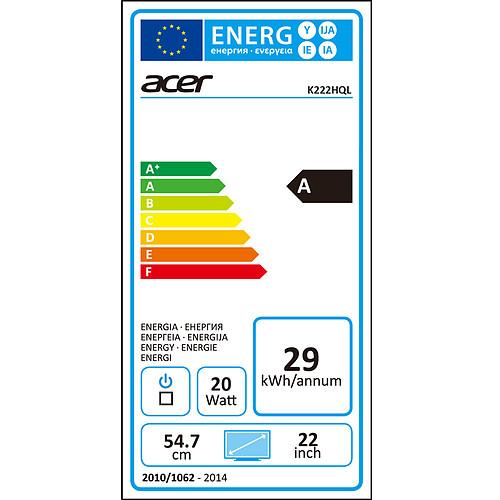 """Acer 21.5"""" LED - K222HQLBD pas cher"""