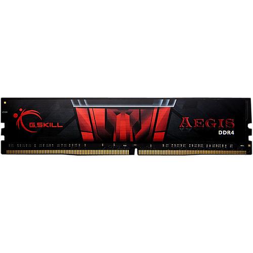 G.Skill Aegis 4 Go (1 x 4 Go) DDR4 2400 MHz CL15 pas cher