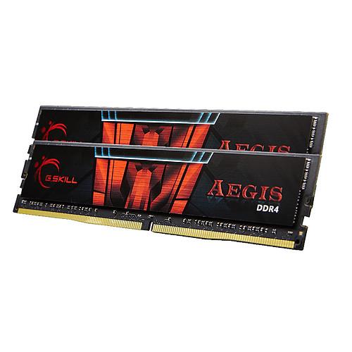 G.Skill Aegis 32 Go (2 x 16 Go) DDR4 2400 MHz CL17 pas cher