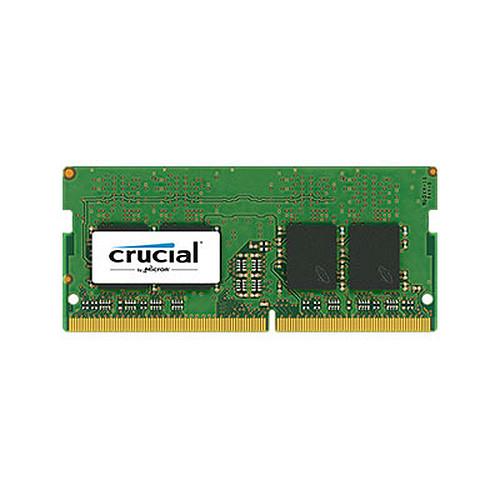 Crucial SO-DIMM DDR4 8 Go (2 x 4 Go) 2666 MHz CL19 SR X8 pas cher