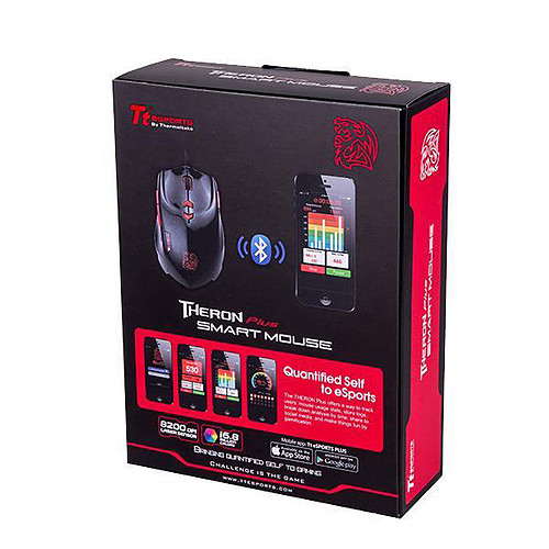 Tt eSPORTS by Thermaltake Theron Plus Smart Mouse pas cher