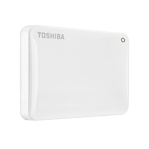 Toshiba Canvio Connect II 1 To Blanc pas cher