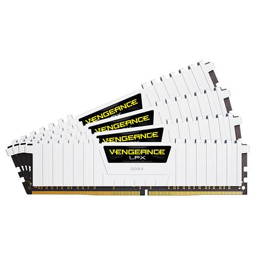 Corsair Vengeance LPX Series Low Profile 32 Go (4x 8 Go) DDR4 2666 MHz CL16 pas cher