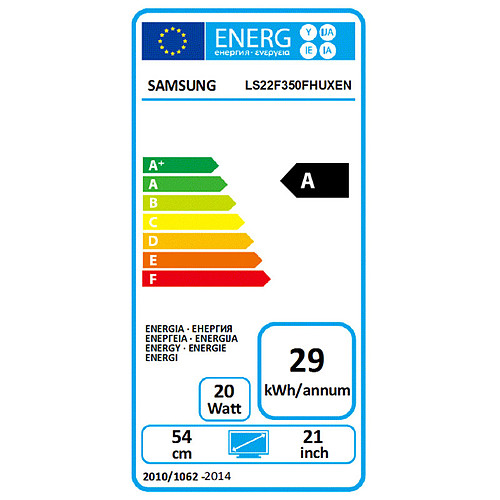 "Samsung 21.5"" LED - S22F350FH pas cher"