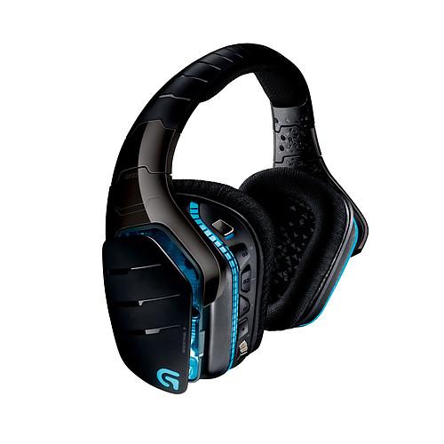 Logitech G933 Artemis Spectrum RGB Wireless 7.1 Surround Gaming Headset (Noir) pas cher