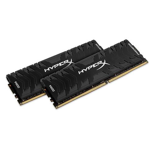 HyperX Predator Noir 32 Go (2x 16 Go) DDR4 2400 MHz CL12 pas cher