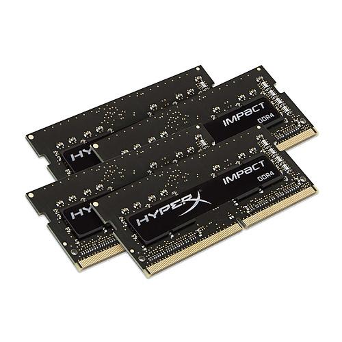HyperX Impact SO-DIMM 32 Go (4 x 8 Go) DDR4 2400 MHz CL15 pas cher