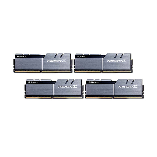 G.Skill Trident Z 64 Go (4x 16 Go) DDR4 3200 MHz CL16 pas cher