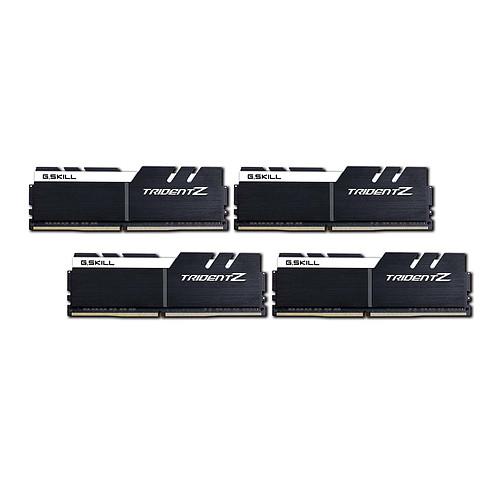 G.Skill Trident Z 32 Go (4x 8 Go) DDR4 4000 MHz CL18 pas cher