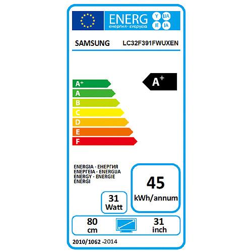 "Samsung 32"" LED - C32F391F pas cher"