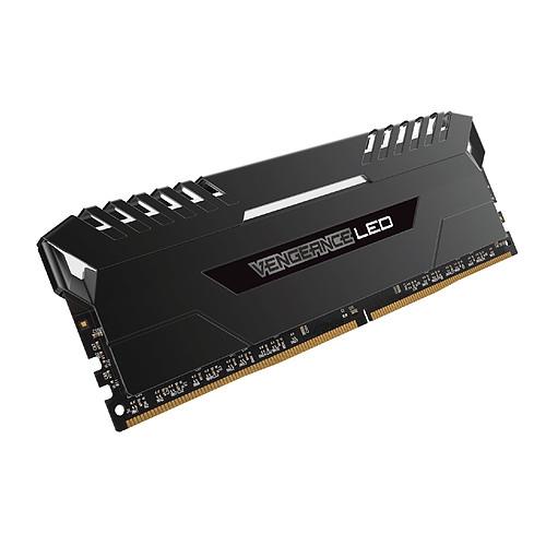 Corsair Vengeance LED Series 32 Go (4x 8 Go) DDR4 3200 MHz CL16 pas cher