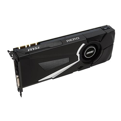 MSI GeForce GTX 1080 AERO 8G OC pas cher