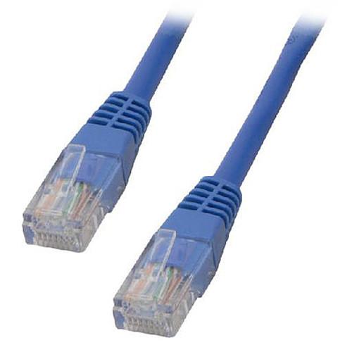 Câble RJ45 catégorie 5e U/UTP 2 m (Bleu) pas cher