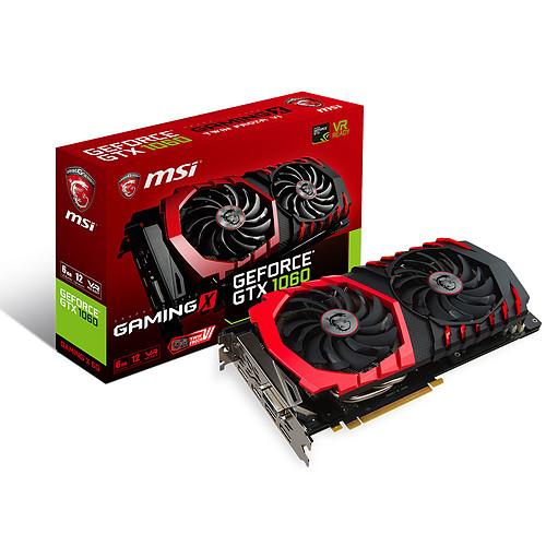 MSI GeForce GTX 1060 GAMING X 6G pas cher