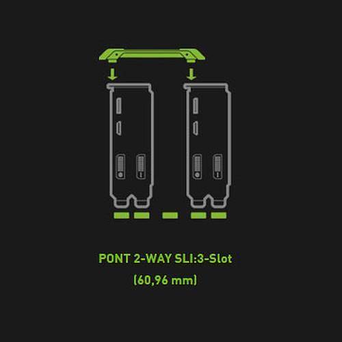 NVIDIA SLI HD Bridge Medium pas cher