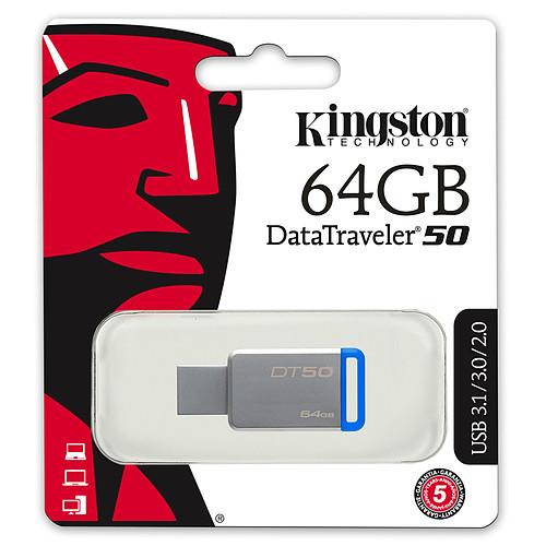 Kingston DataTraveler 50 64 Go pas cher