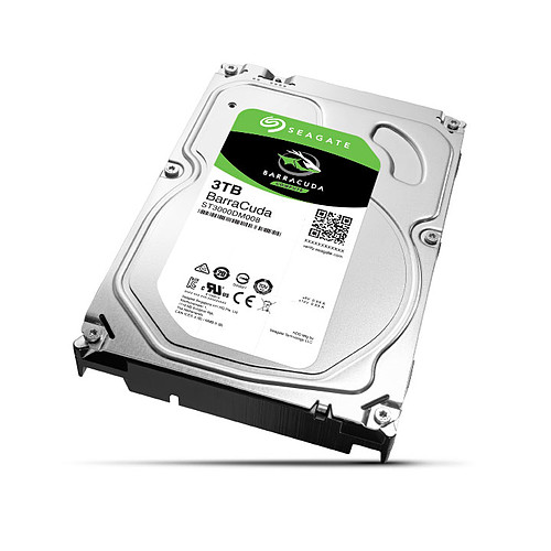 Seagate BarraCuda 3 To (ST3000DM008) pas cher