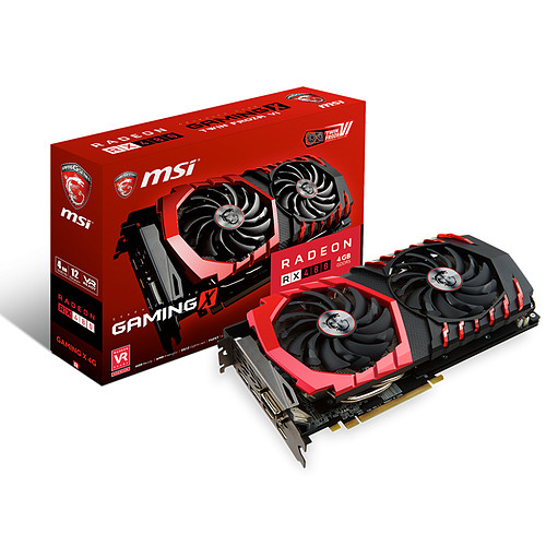 MSI Radeon RX 480 GAMING X 4G pas cher
