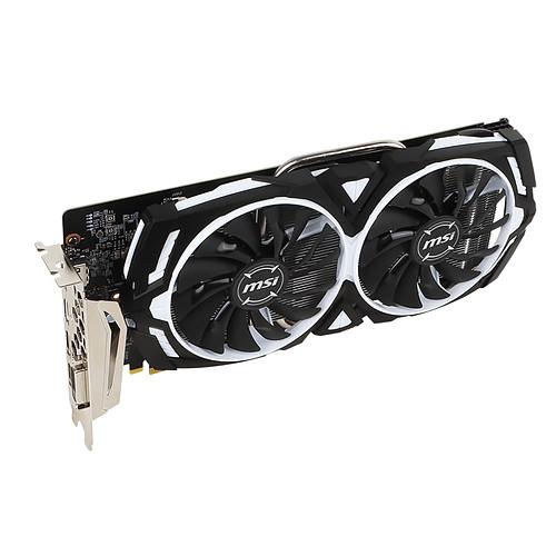 MSI GeForce GTX 1060 ARMOR 3G OCV1 pas cher