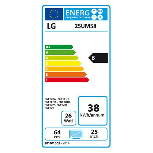 """LG 25"""" LED 25UM58 pas cher"""