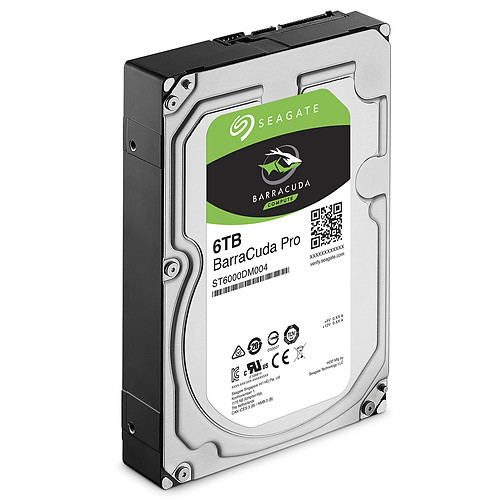 Seagate BarraCuda Pro 6 To (ST6000DM004) pas cher