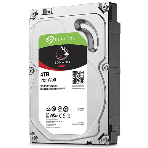Seagate IronWolf 4 To pas cher
