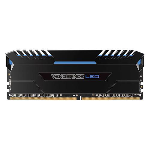 Corsair Vengeance LED Series 32 Go (4x 8 Go) DDR4 3000 MHz CL16 - Bleu pas cher