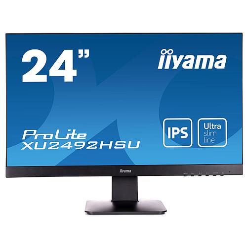 "iiyama 24"" LED - ProLite XU2492HSU-B1 pas cher"