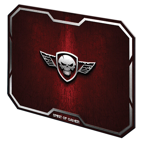 Spirit of Gamer Winged Skull Rouge pas cher