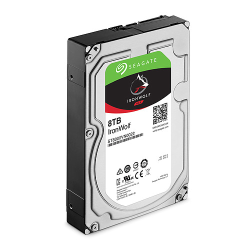Seagate IronWolf 8 To pas cher
