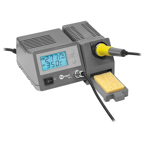 Station de soudure numérique (fer + support avec réglage numérique + éponge) pas cher