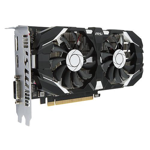 MSI GeForce GTX 1050 TI 4GT OC pas cher