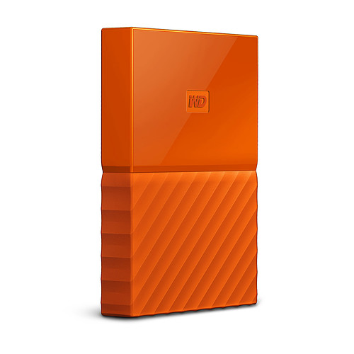 WD My Passport 4 To Orange (USB 3.0) pas cher