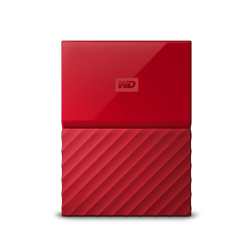 WD My Passport 4 To Rouge (USB 3.0) pas cher