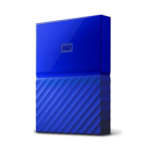 WD My Passport 3 To Bleu (USB 3.0) pas cher