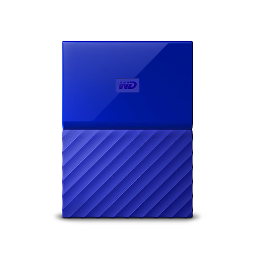 WD My Passport 4 To Bleu (USB 3.0) pas cher