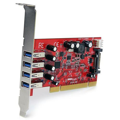 StarTech.com PCIUSB3S4 pas cher