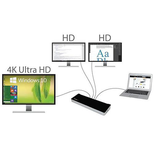 StarTech.com USB3DOCKH2DP pas cher