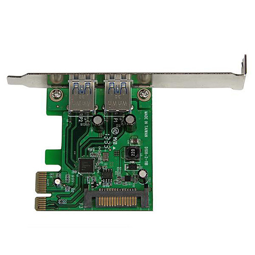 StarTech.com Carte Contrôleur PCI Express vers 2 ports USB 3.0 avec UASP pas cher