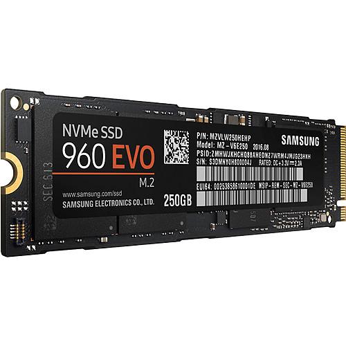 Samsung SSD 960 EVO M.2 PCIe NVMe 250 Go pas cher