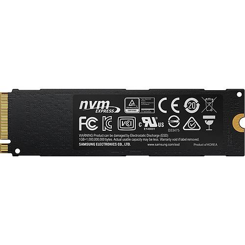 Samsung SSD 960 EVO M.2 PCIe NVMe 500 Go pas cher