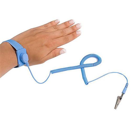 StarTech.com Bracelet antistatique avec câble de mise à la terre et protection contre surtensions pas cher