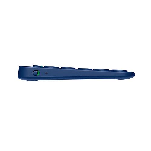 Logitech Multi-Device Keyboard K380 Bleu pas cher