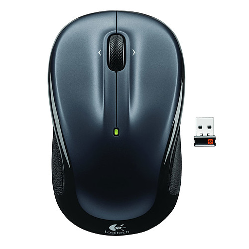 Logitech Wireless Mouse M325 (Dark Silver) pas cher