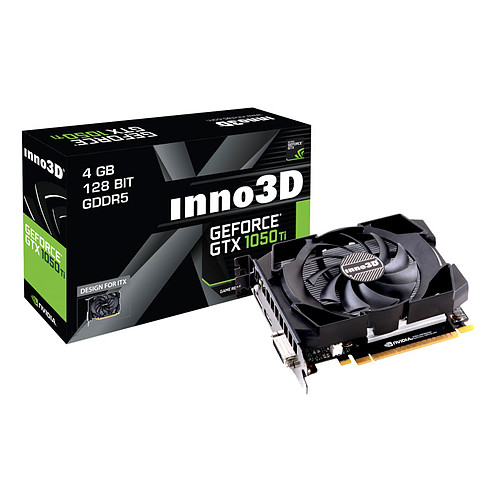 INNO3D GeForce GTX 1050 Ti Compact pas cher