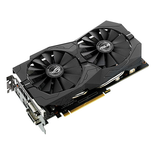ASUS GeForce GTX 1050 Ti - ROG STRIX-GTX1050TI-O4G-GAMING pas cher