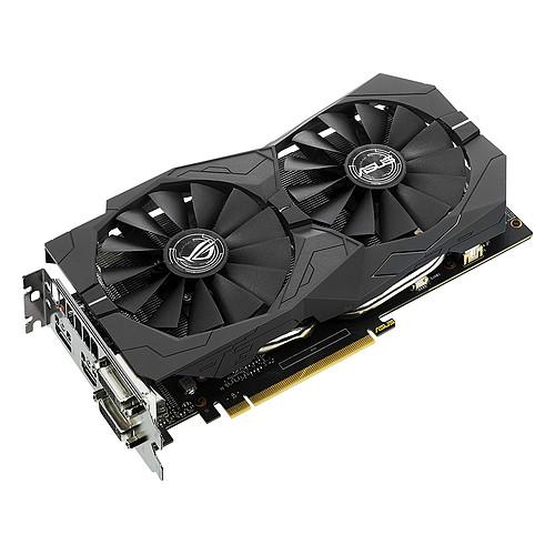 ASUS GeForce GTX 1050 Ti - ROG STRIX-GTX1050TI-4G-GAMING pas cher