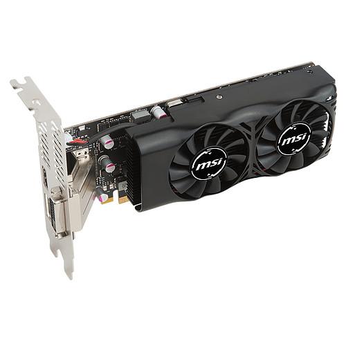 MSI GeForce GTX 1050 TI 4GT LP pas cher