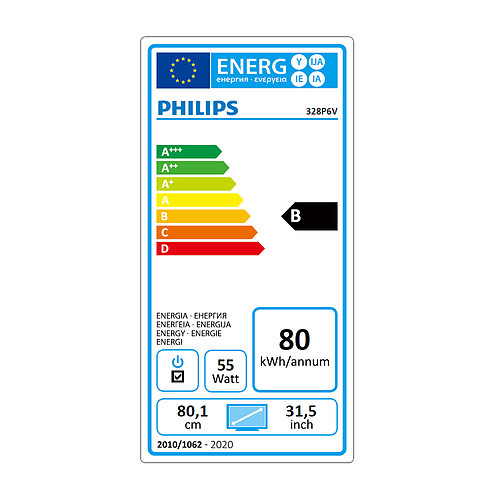 "Philips 32"" LED - 328P6VJEB pas cher"