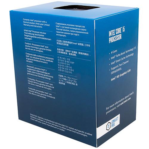Intel Core i5-7400 (3.0 GHz) pas cher